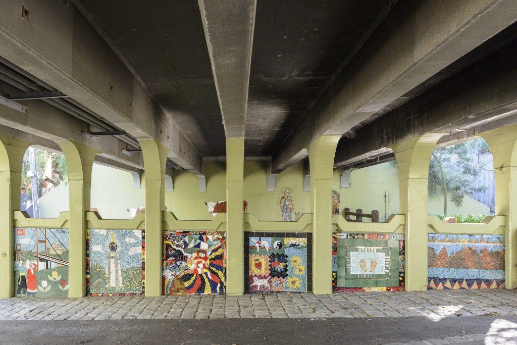 Lynch's Bridge Mosaic Mural