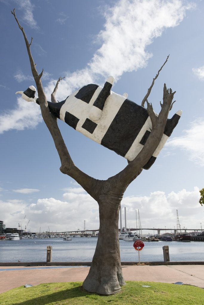 Cow Up a Tree