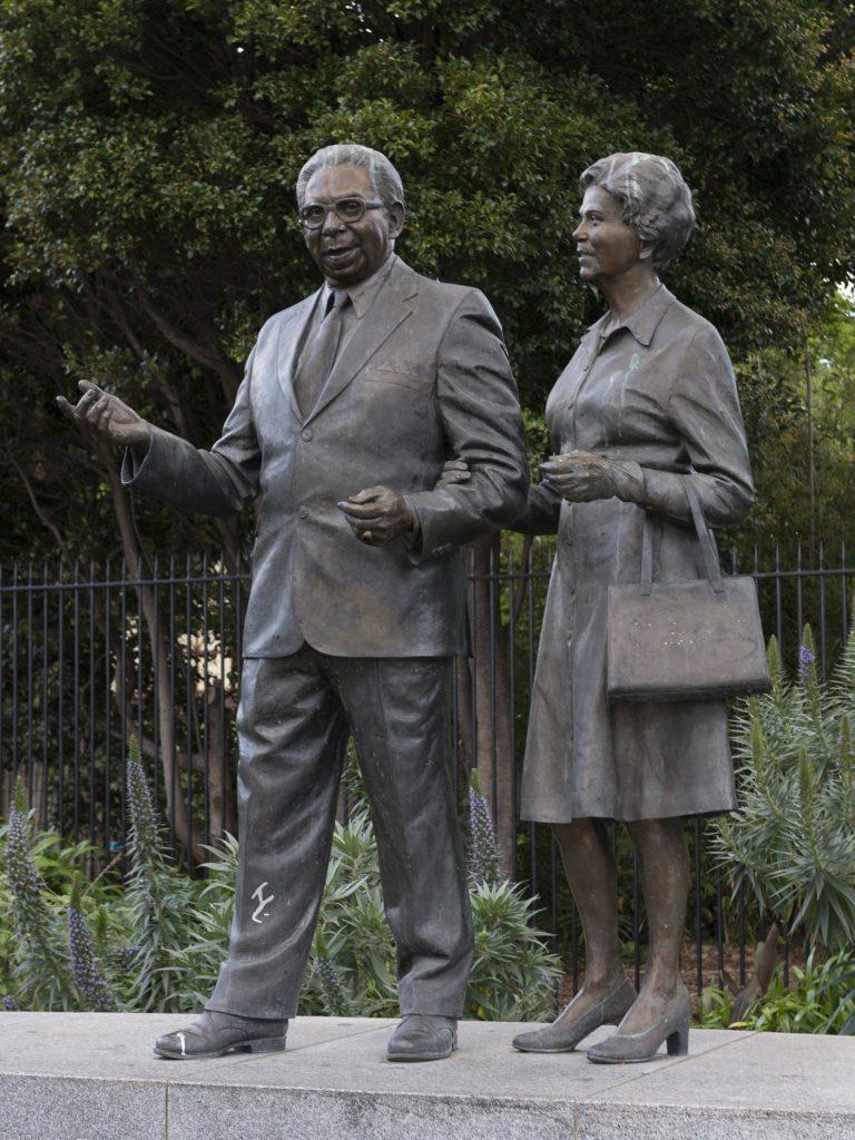Pastor Sir Doug Nicholls and Lady Gladys Nicholls