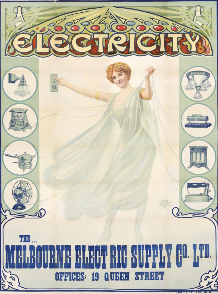 Poster, Electricity