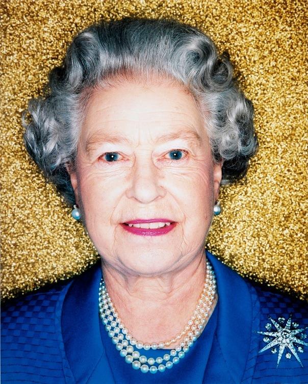 Her Majesty, The Queen, Elizabeth II (gold)