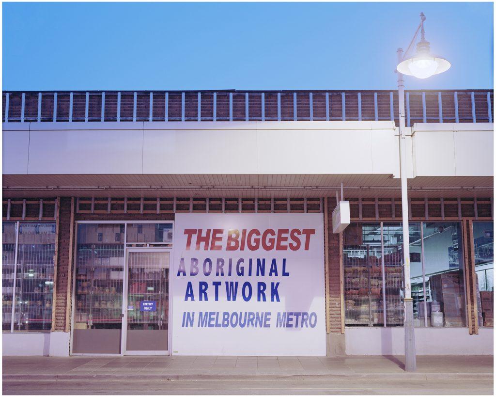 The Biggest Aboriginal Artwork in Melbourne Metro