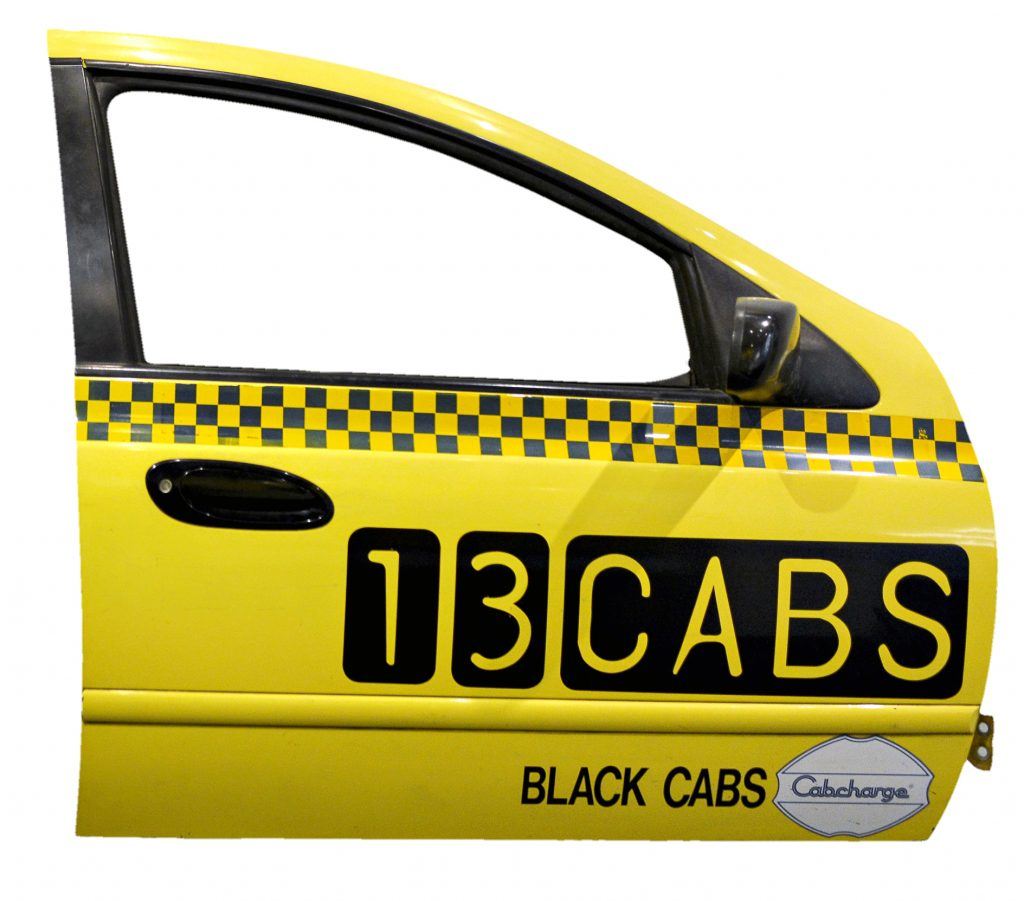 Ford Falcon taxi front door