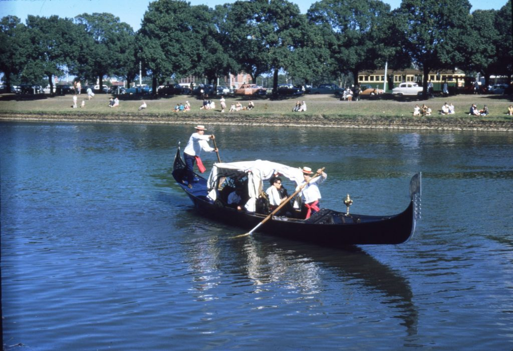 Gondola on the Yarra, 1963