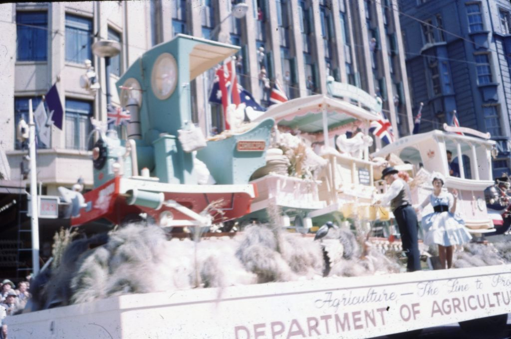 Department of Agriculture float B, 1963