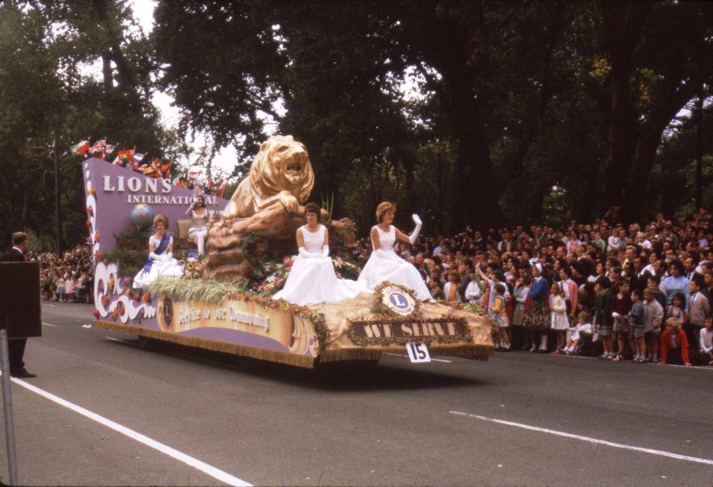 Lions International float, 1964