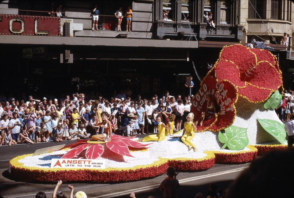 Gold Coast float, 1964