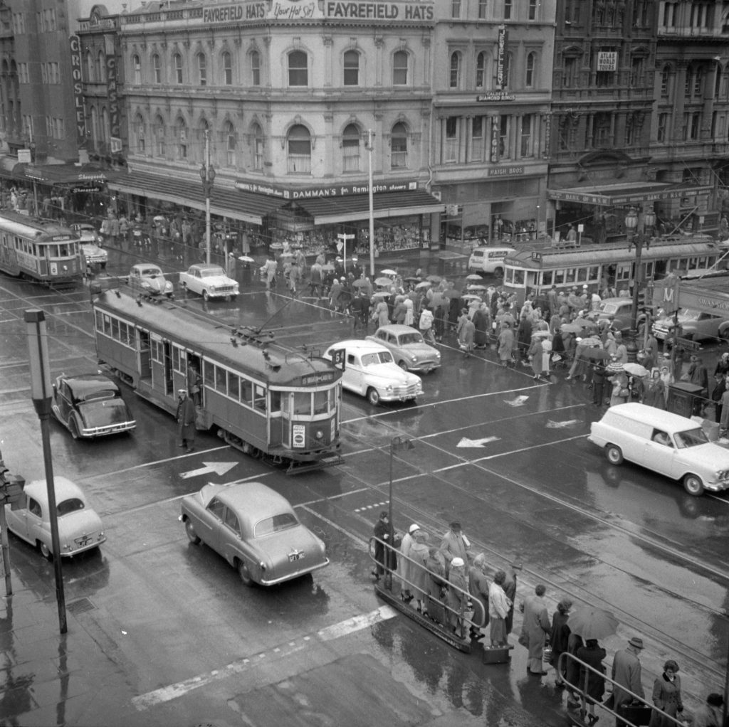 Unmarked Book Negative A18 – Intersection of Swanston and Collins Street