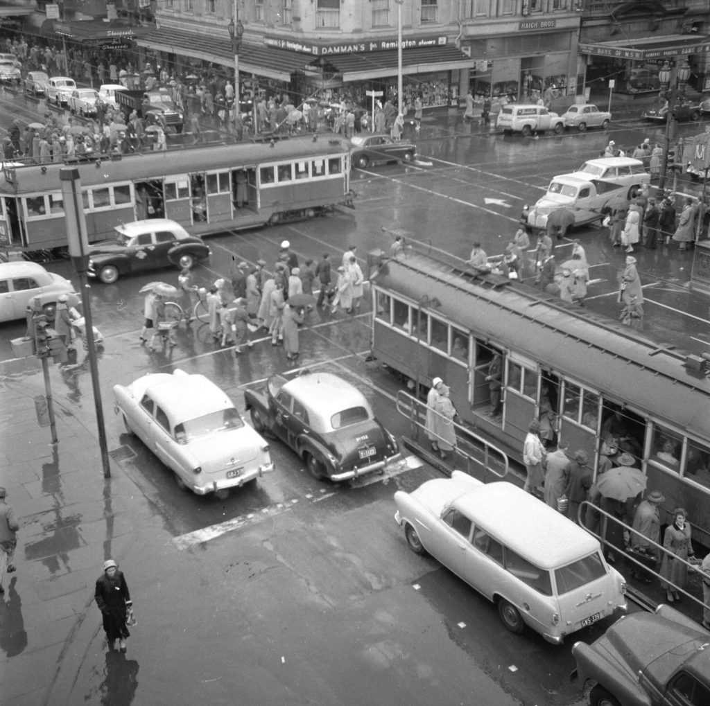 Unmarked Book Negative A30 – Intersection of Swanston and Collins Street