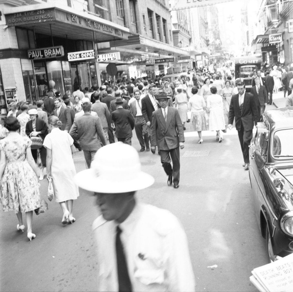 Unmarked Book Negative A36 – Little Collins Street