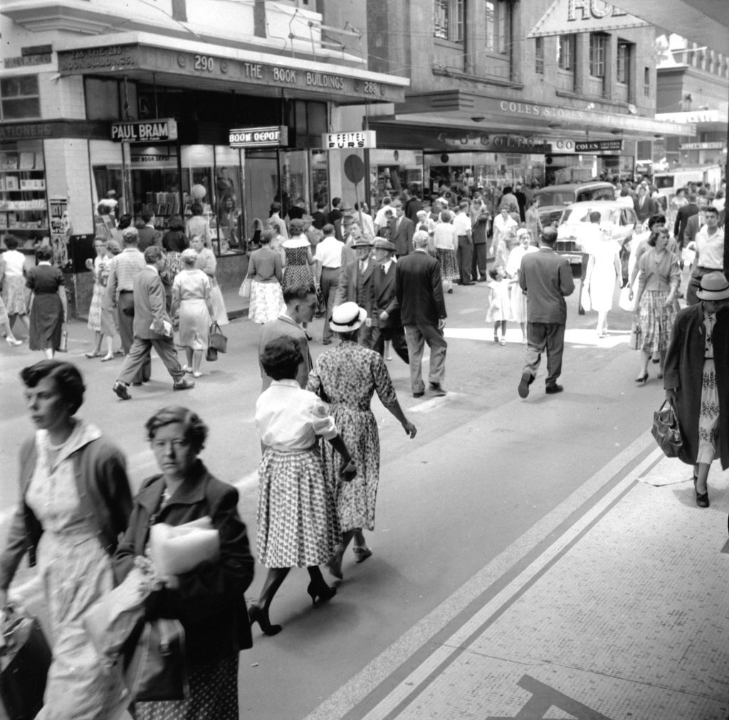 Unmarked Book Negative A37 – Little Collins Street