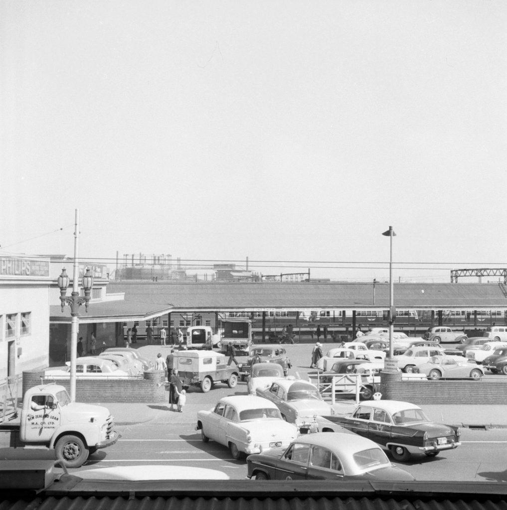 Unmarked Book Negative A77 – Spencer Street station car park