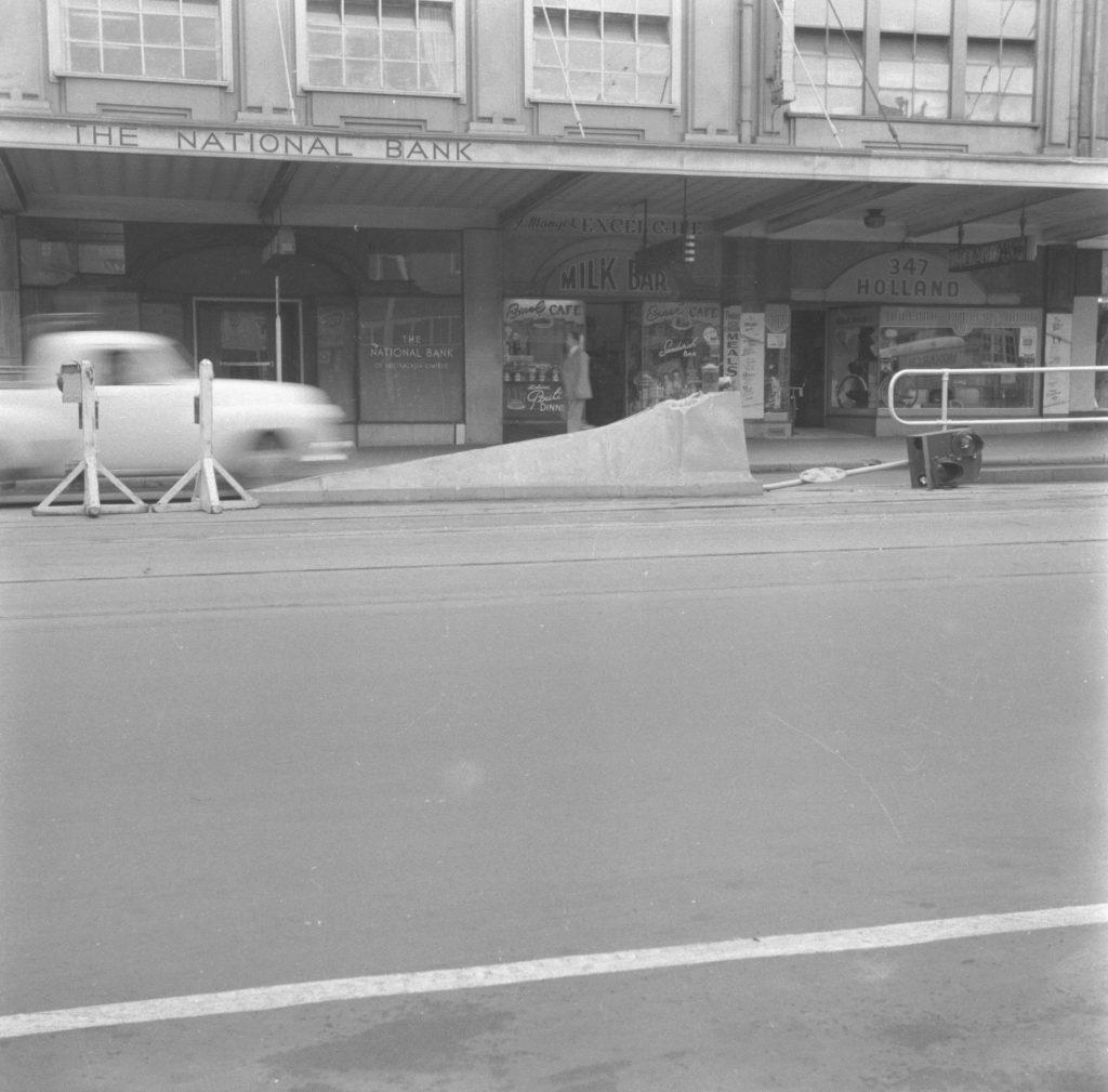 Unmarked Book Negative A96 – Elizabeth Street shops