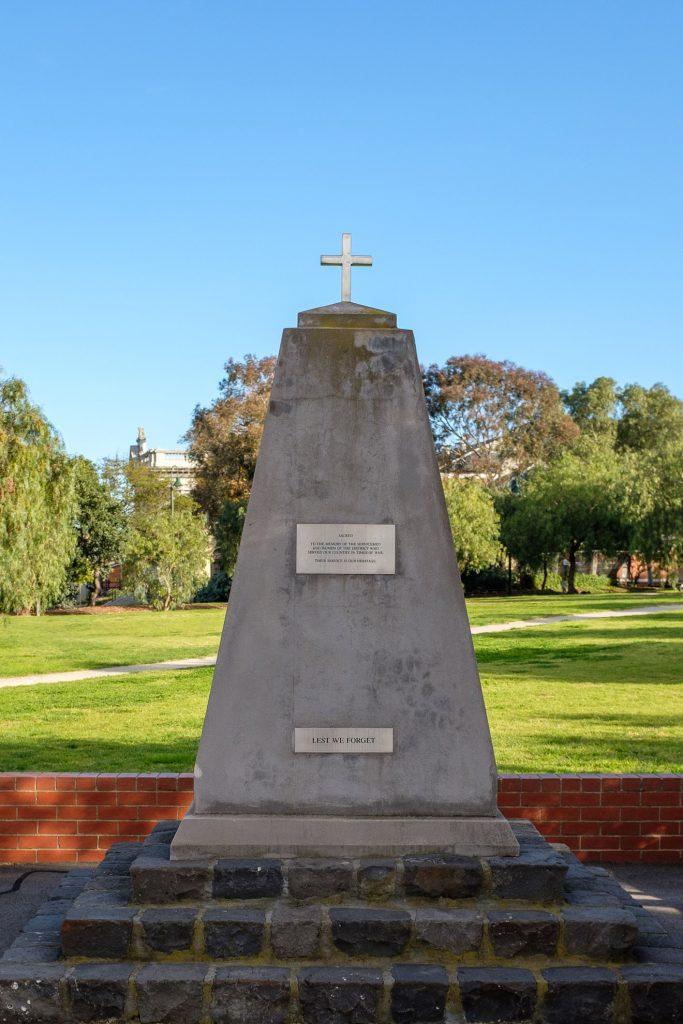 Flemington War Memorial