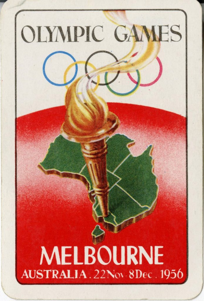 Playing Card, Melbourne Olympics 1956