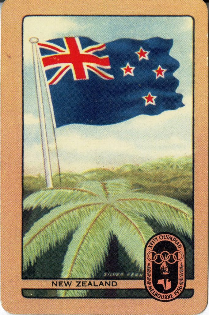 Coles trading card, New Zealand