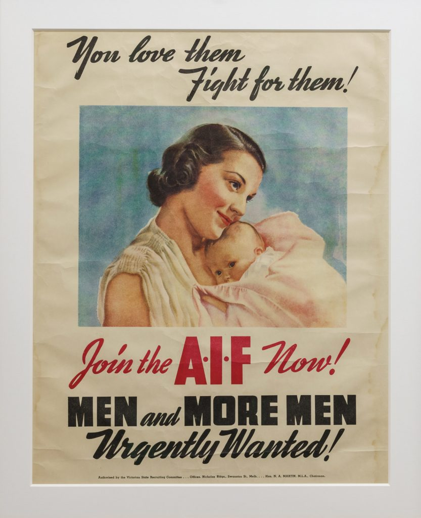 Poster, Join the A.I.F now!