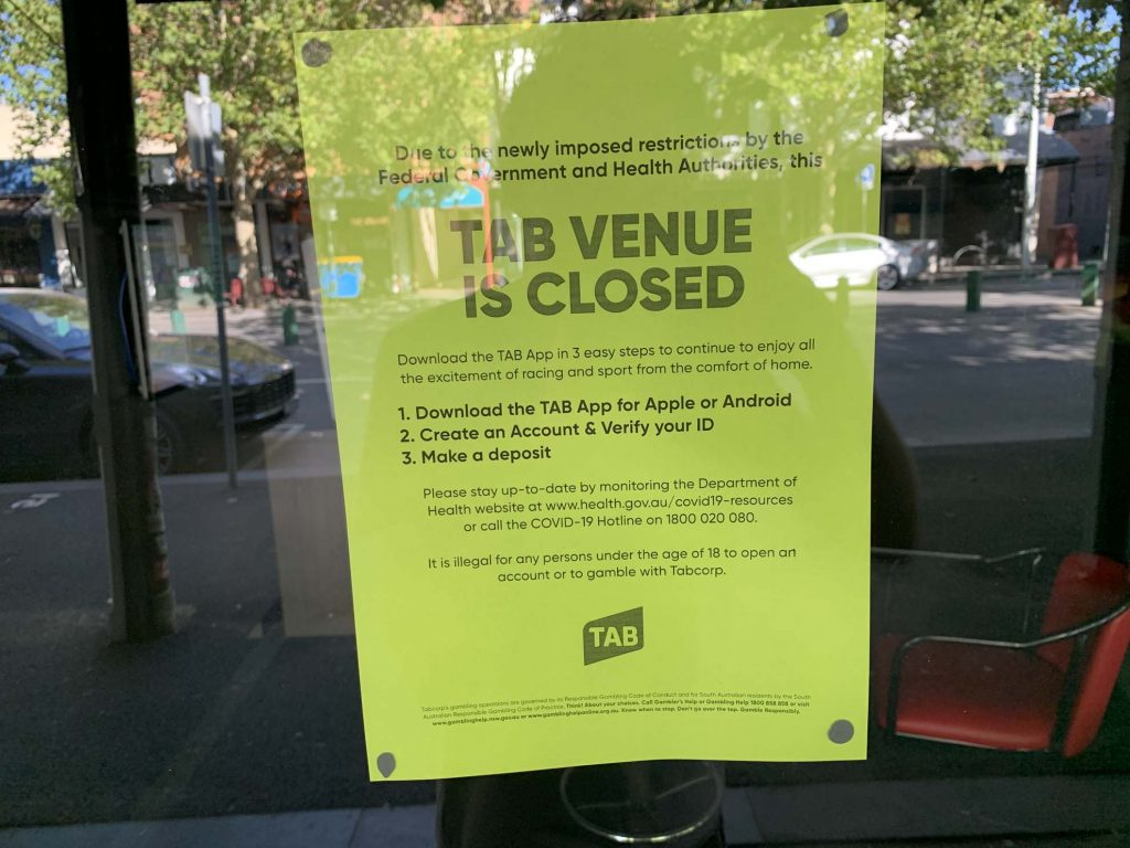 A Sign Of The Times (TAB on Bourke St) 1