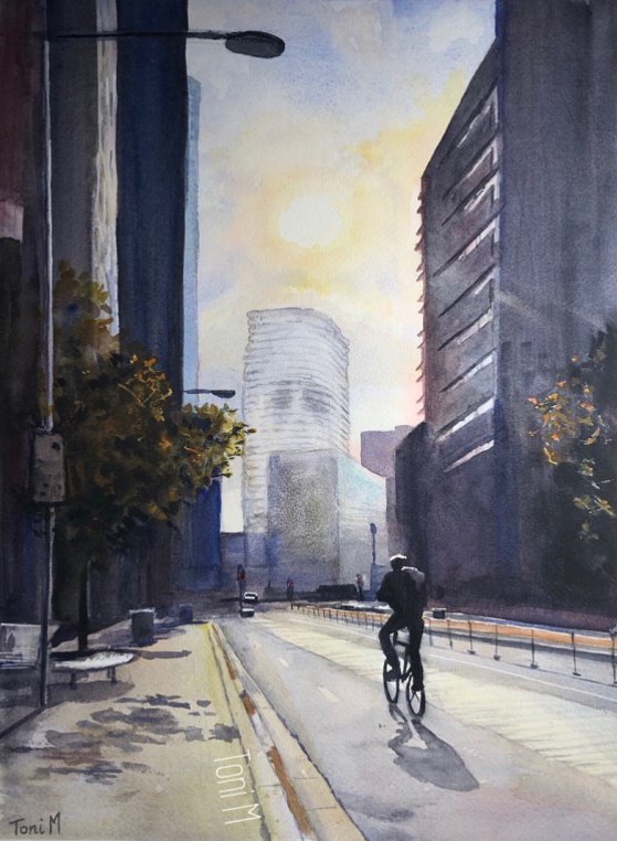 William Barak building – Just watching, 08/06/2020